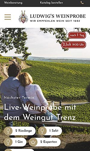 Ludwigs Weinprobe