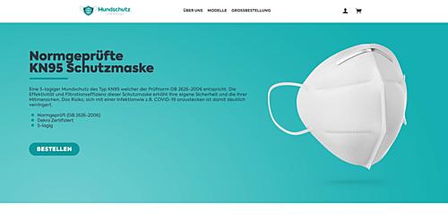 Mundschutz Onlineshop
