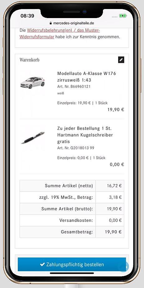 Mercedes Originalteile 4