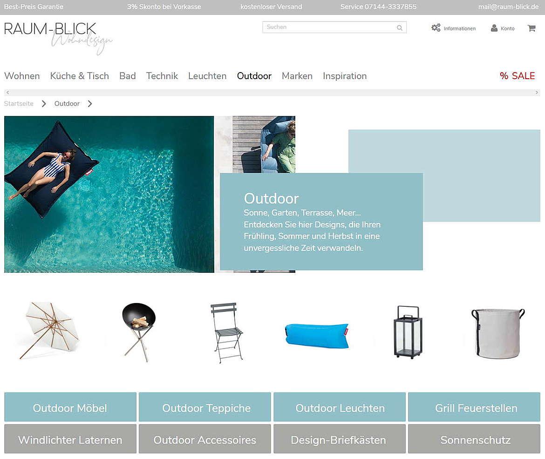 raum-blick.de Wohndesign, Wohnaccessoires & Design Möbel 4