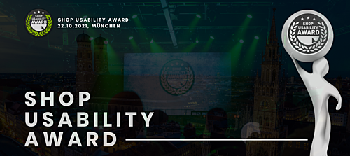 Bewerbungsstart zum 14. Shop Usability Award®