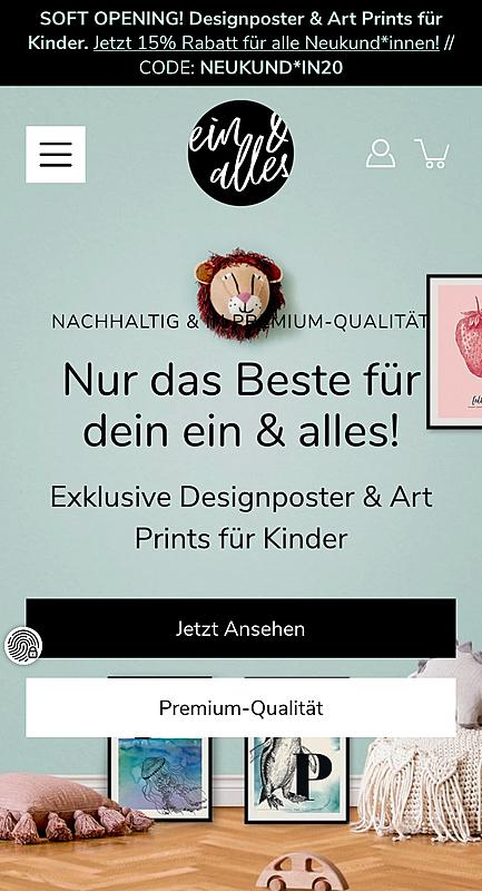 ein & alles Designposter 6