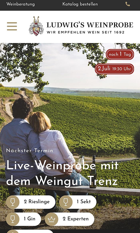 Ludwigs Weinprobe 1