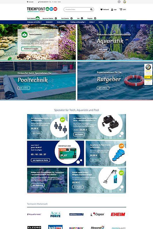 Teichpoint - Gartenteich, Aquaristik und Ratgeber 1