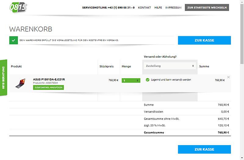 0815 Online Handel GmbH 6