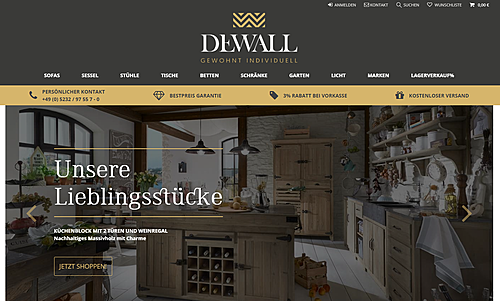 Dewall-Design