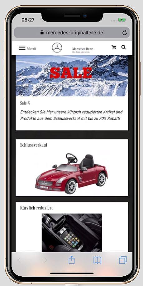 Mercedes Originalteile 1