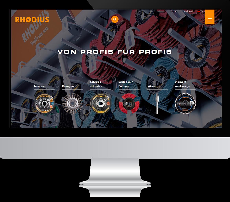 RHODIUS Abrasives - Simplify your work. 2