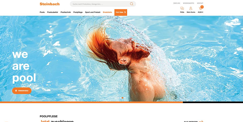 """Steinbach Pools und Poolzubehör - """"we are pool"""" 1"""