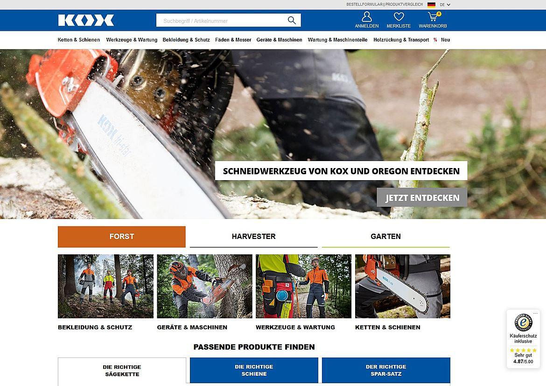Blount GmbH, KOX 1