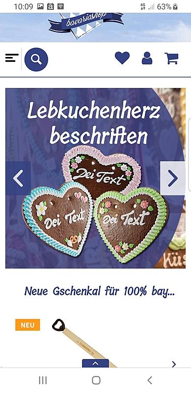 Bavariashop - der Shop für bayerisches LebensGfui 2