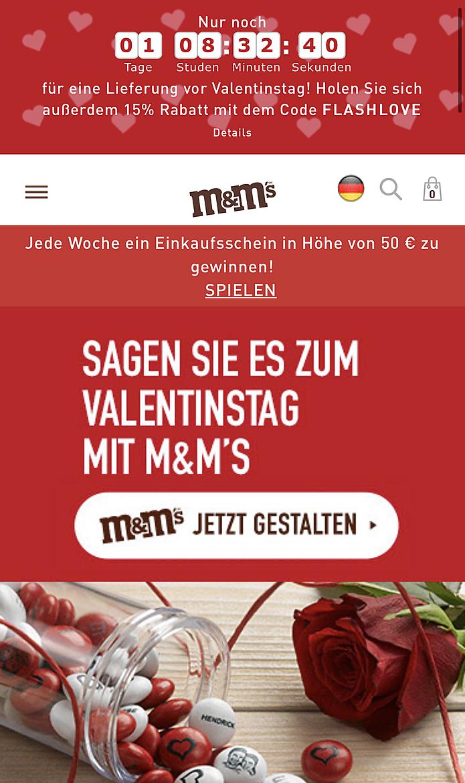 M&M's 1