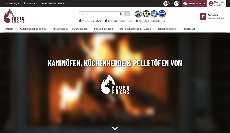 Kaminöfen Feuer Fuchs 2