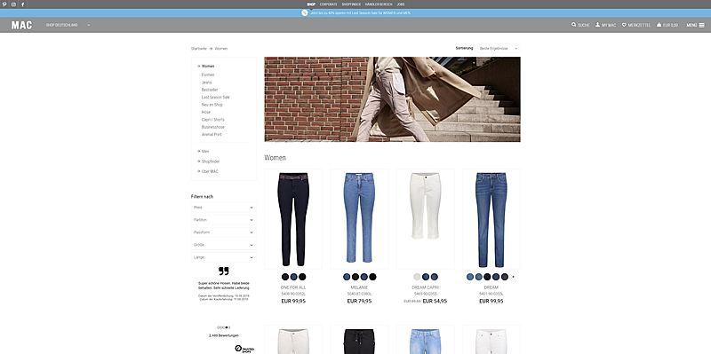 Mac Jeans Shop 2