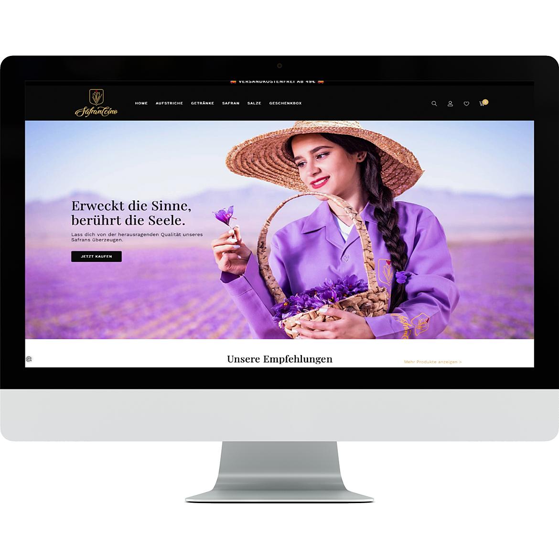 Safranccino Online Shop 5