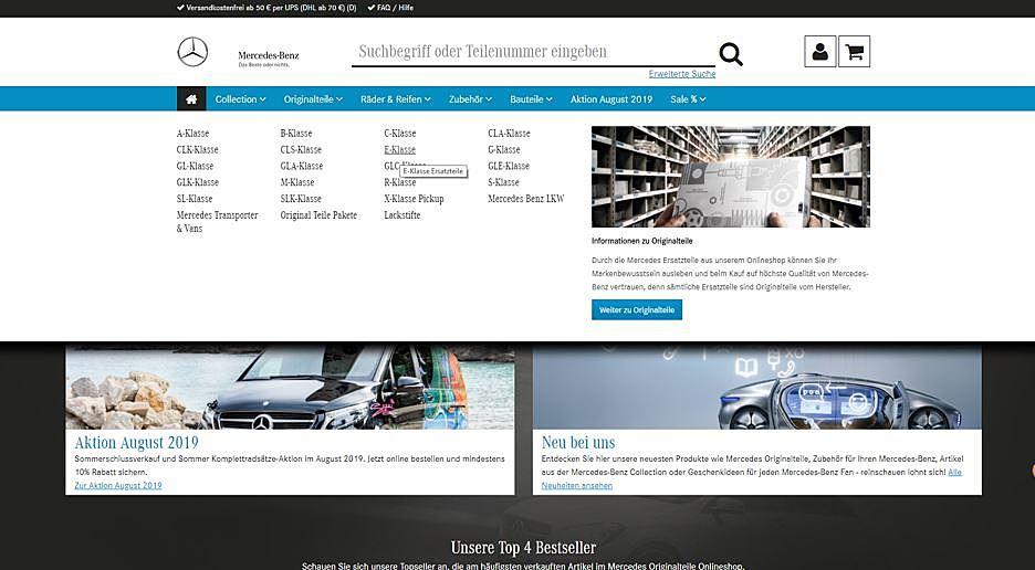 Mercedes Originalteile 5