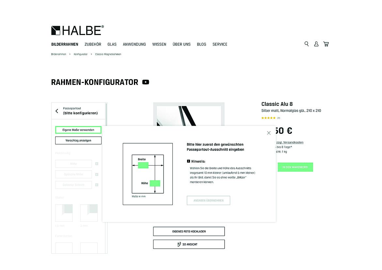 HALBE-Rahmen 2