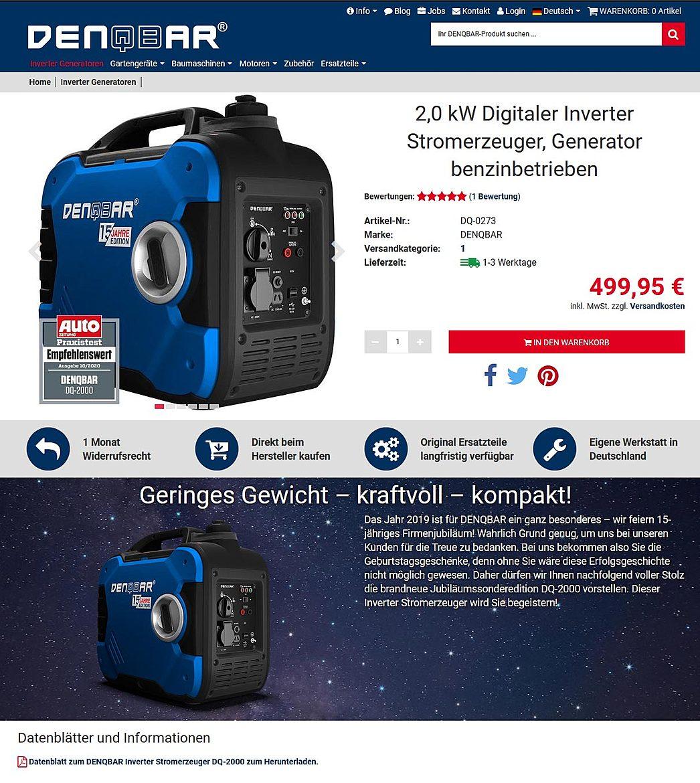 DENQBAR Online-Shop 3