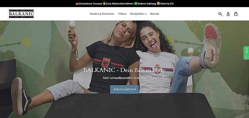 BALKANIC - Dein Balkan Shop für Hoodies, Shirts, Handyhüllen und mehr! 1