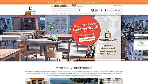 Wohnpalast.de - Möbel mit Charakter