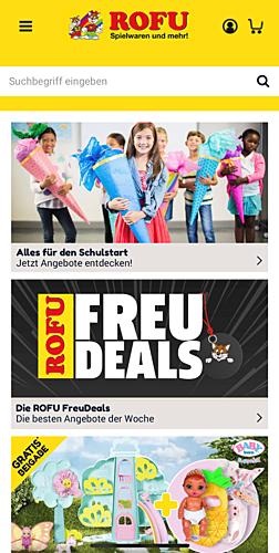 ROFU Spielwaren und mehr!
