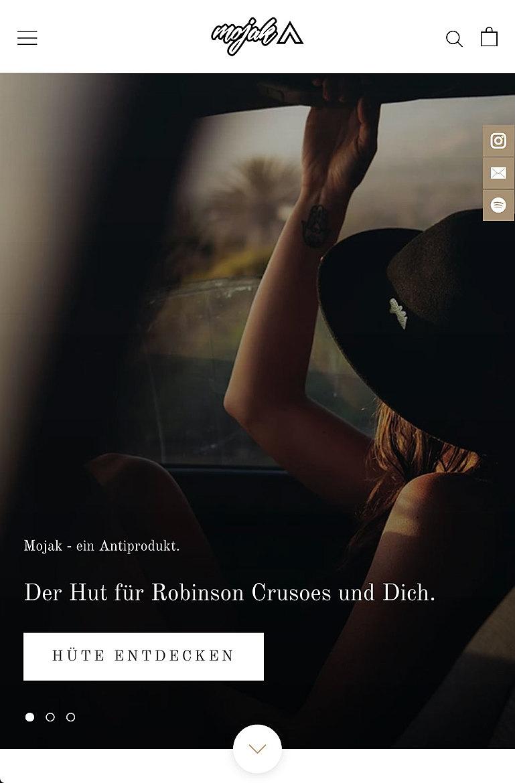 Mojak - Der Hut für den Roadtrip deines Lebens 1