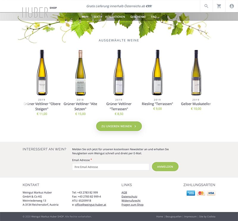 Weingut Markus Huber Shop 2