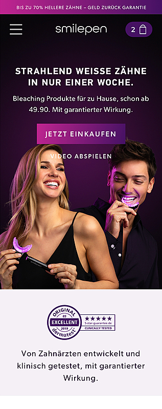 Smilepen - Teeth Whitening 1