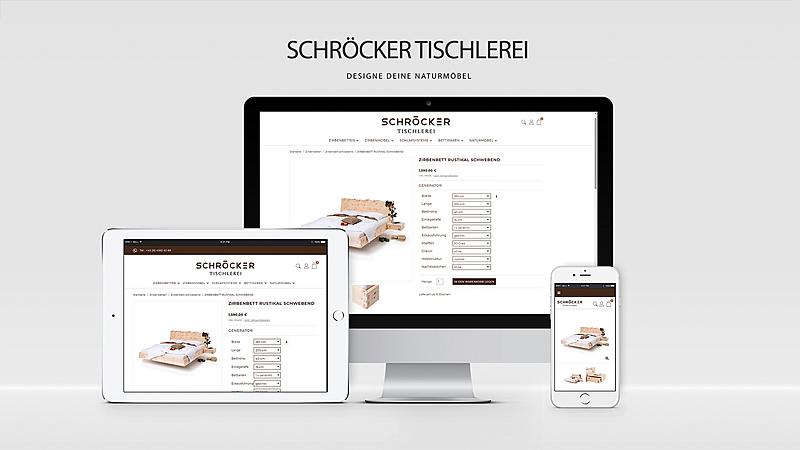 Tischlerei Schröcker - Designe deine Zirbenmöbel 1