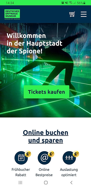 Onlineshop für Tickets & Merchandise Deutsches Spionagemuseum Berlin 5