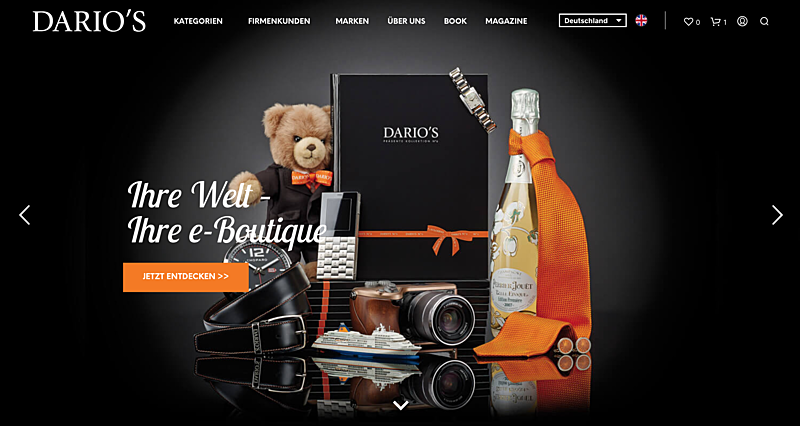 DARIO'S e-Boutique 1