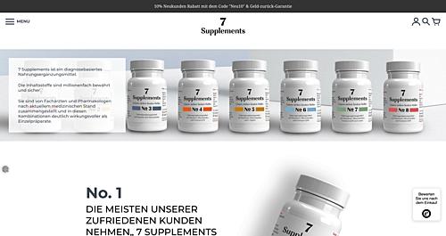 7 Supplements