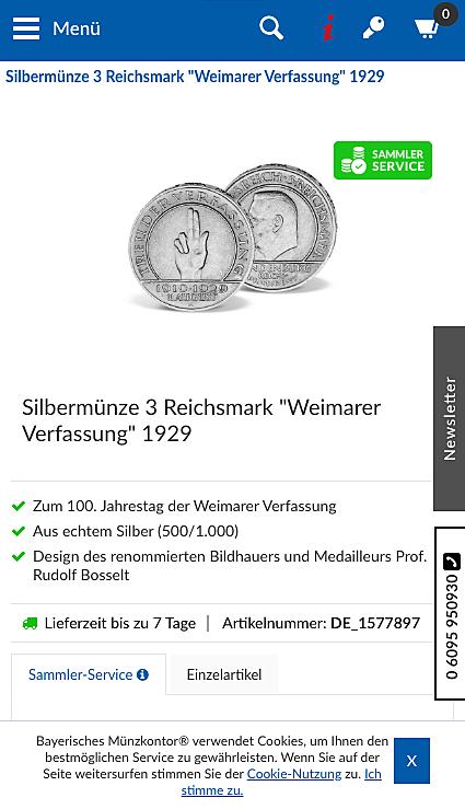 Bayerisches Münzkontor 2
