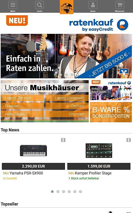 Musikhaus Korn 1