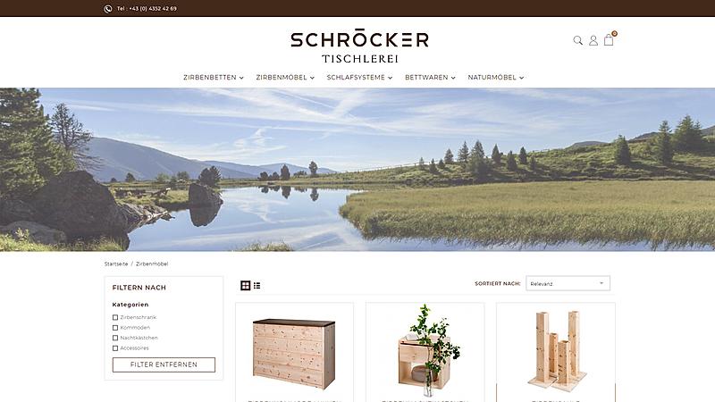 Tischlerei Schröcker - Designe deine Zirbenmöbel 4
