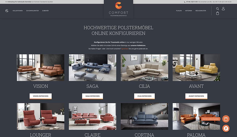 Comfort Polstermöbel Manufaktur 3