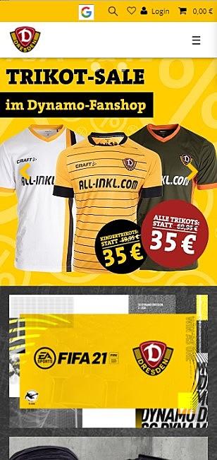 SG Dynamo Dresden Fanshop 1