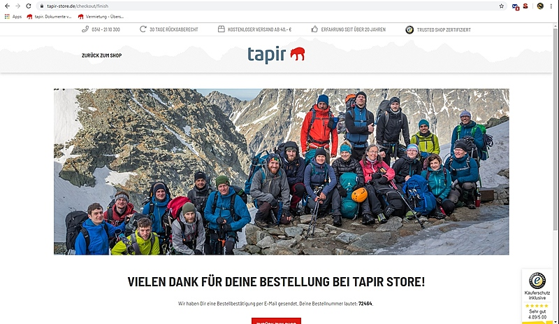 tapir-store 1