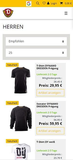 SG Dynamo Dresden Fanshop 3