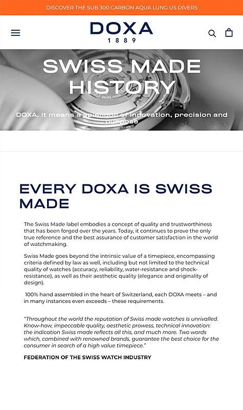 Doxa Watches 2
