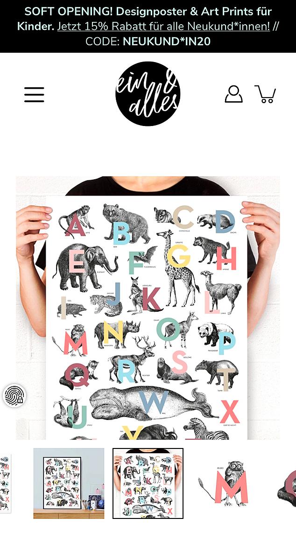 ein & alles Designposter 1