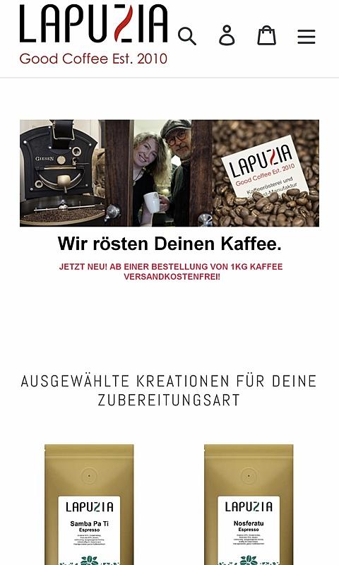 Kaffeerösterei Lapuzia 1