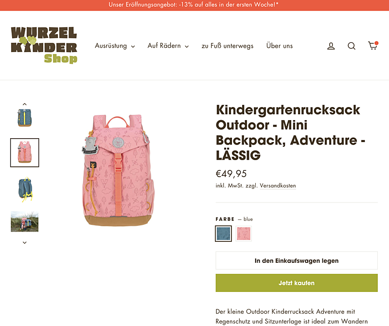 WURZELKINDER Shop 5