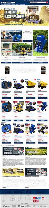 DENQBAR Online-Shop 1