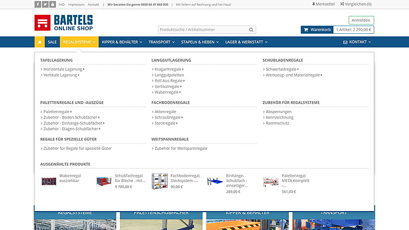 Karl H. Bartels GmbH - Online Shop 8