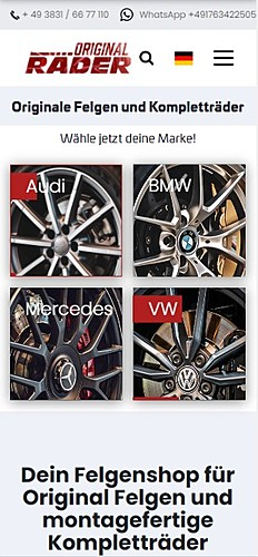 Original Räder