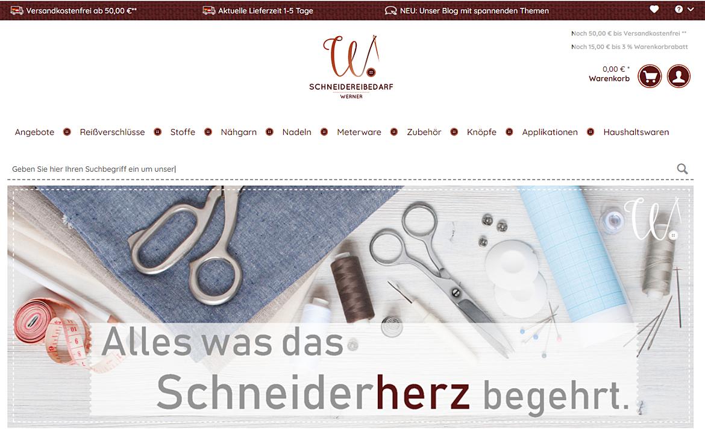 Schneidereibedarf Werner GmbH 1