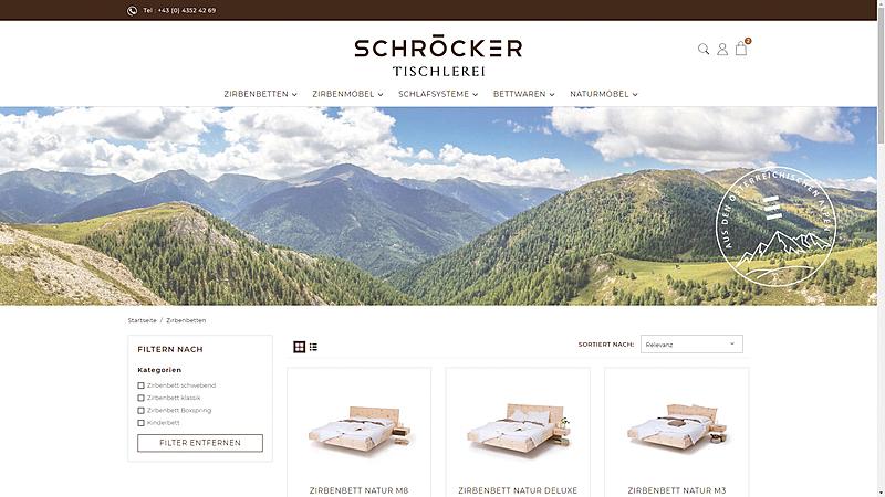 Tischlerei Schröcker - Designe deine Zirbenmöbel 2