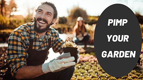 Zeit für Garten Shops!