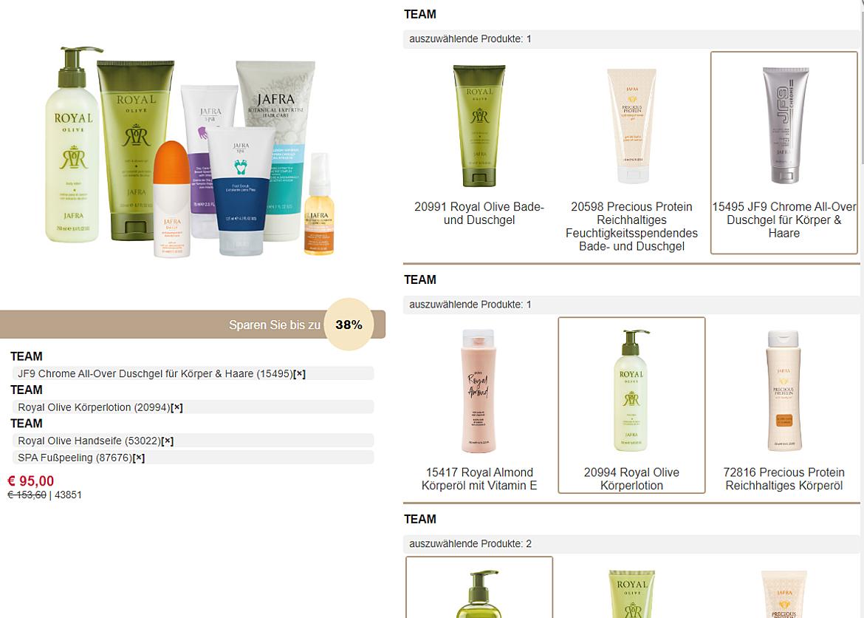 JAFRA Cosmetics International 2